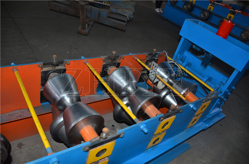 Metal Ridge Sheet Roll Forming Machine