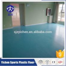 sponge pvc roll flooring back for kindergarten