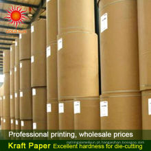 80g -150g reciclar papel kraft marrom