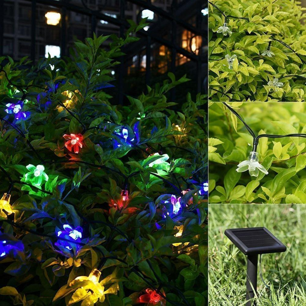 Solar Powered LED Lights String