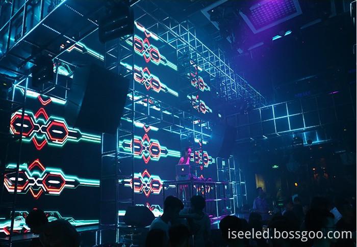 dmx digital bars lighting