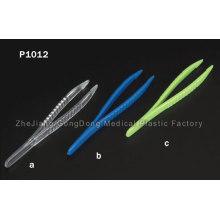 CE y FDA certificada desechables pinzas 12,5 cm de largo