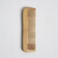 Pente de cabelo de madeira natural para homem e mulheres