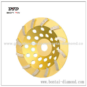 5 inch turbo cup wheels for concrete or stones grinding