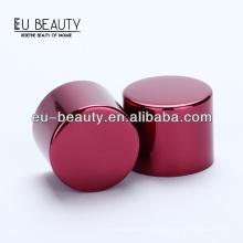 Rosa perfume de alumínio de alumínio cap