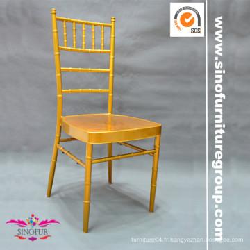 Chaises empilables en métal / aluminium chiavari
