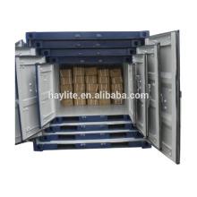 Mini contenedor de almacenamiento de acero de 5 pies-10 pies a la venta