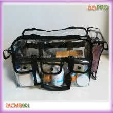 Large Size PVC Cosmetic Bag PRO Clear Makeup Train Case (SACMB001)