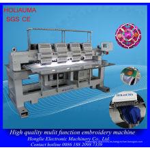 4 cabeza 15 agujas casquillo uniforme bordado máquina / máquina de fábrica alta calidad multi-cabeza del bordado