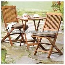 Acacia & Eucalyptus Massivholz Outdoor / Garten Möbel Set - Balkon Tisch