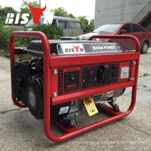 BISON (China) Fornecedor da fábrica China Venda quente 3kva motor a gasolina Generator 3kw 5kw