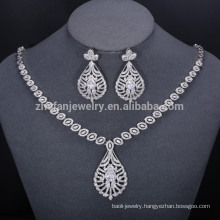 2018 New Fashion Jewelry Set rhodium Plated