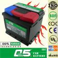 DIN-54317 12V43AH para bateria de carro livre de manutenção