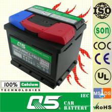 DIN-55054 12V50AH para batería de automóvil sin mantenimiento