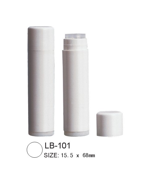 plastic lip balm tube