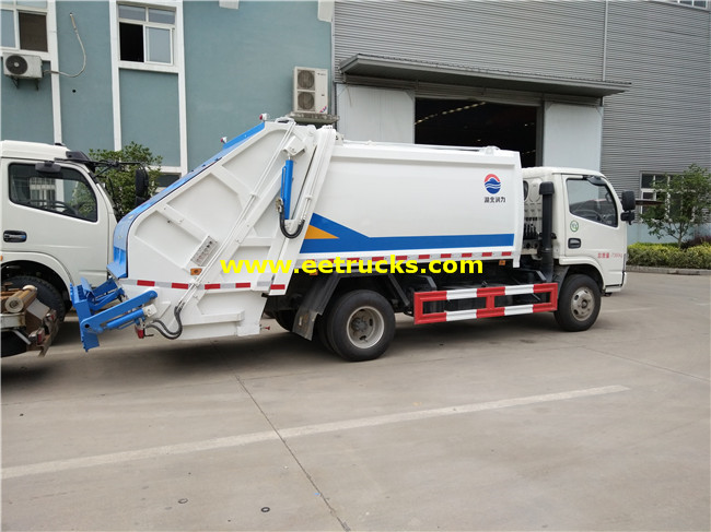 5000 Litres Refuse Compression Trucks