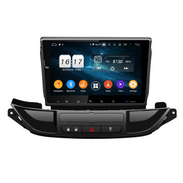 Astra J 2015-2017向けAndroid9カーステレオ