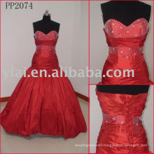 Elegant Silk Taffeta Sexy Real Party dress PP2084