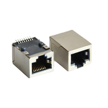 Porta do módulo de conector integrado RJ45 10/100 Base-T 1