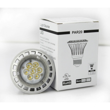 new products 2014 led e27 led lamp 8w PAR20, Dimmable LED bulb made in china