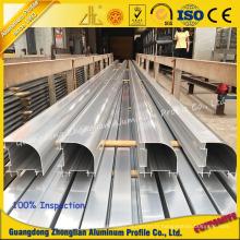 Profil d'extrusion d'aluminium de purification pour la pièce propre dans le laboratoire ou l'atelier