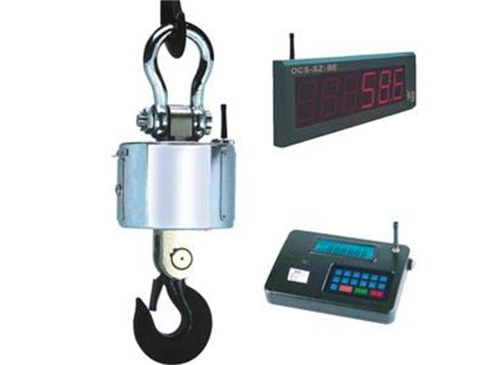 Wireless printing electronic crane scale