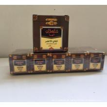 qualidade verde chinesa da sultão do chá 41022 embalada na caixa de 250g e na caixa de 50g
