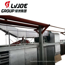 New automatic mineral wool board production line