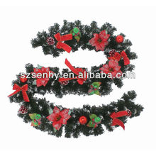 2013 plastic christmas garland