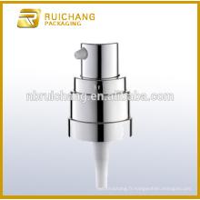 Pompe à haute pression en plastique UV / pompe à crème 20 mm / distributeur de pompe à revêtement uv avec petite surcharge