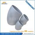 Aluminum alloy ASTM B241 6061T6 short radius elbow