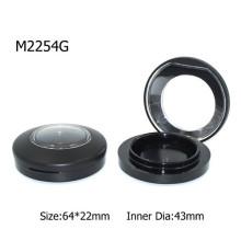 Wholesale Black Plastic Custom Magnet Powder Container