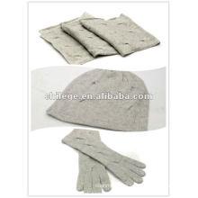 Рождество вязание шапки кашемир,платки, шарфы и перчатки наборы