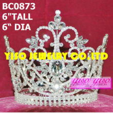 fashion royal clear pageant full crowns and tiaras