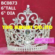 Moda royal clear concursos coroas cheias e tiaras