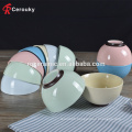 Factory sale premium ceramic bowl,custom pure color glaze ceramic rice bowl,rice serving bowl