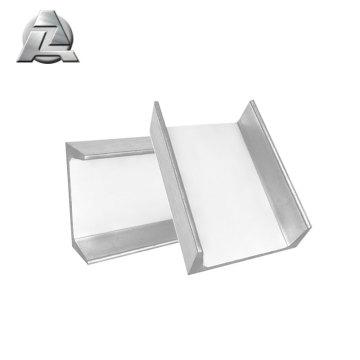 tolerância apertada padrão perfis de extrusão de alumínio bosch u