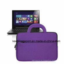 Bolso elegante y de encargo de la PC de la tableta del neopreno con la manija