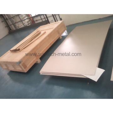 ASTM B265 Gr2 Hot Rolled Pure Titanium Plate (T002)