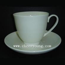 Tasse en céramique et soucoupe (CY-B546)