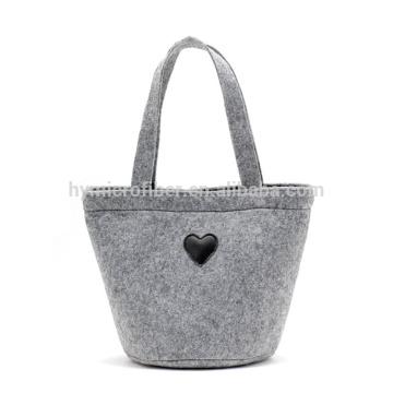 Proteção macia personalizada feltro sacola de compras