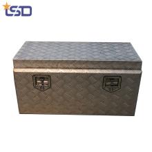 Boîte à outils en aluminium étanche de taille adaptée aux besoins du client Boîte à outils en aluminium de taille adaptée au warterproof de camion