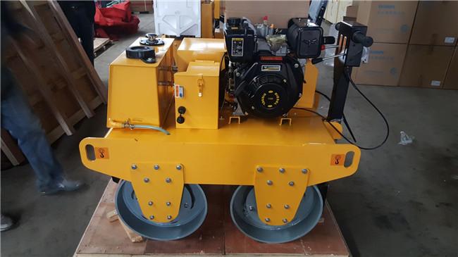Diesel Engine Double Drum Roller