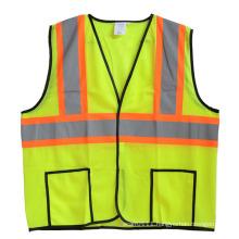 CSA Z96 Neon Mesh High Visibility Reflective Safety Vest (YKY2814)