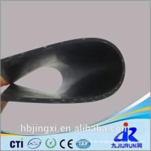 Gummi-Blatt-Rolle der hohen Qualität mit Stoff-Einfügung