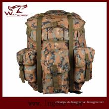 Wasserdichte Camping Tasche Militär Rucksack für OEM