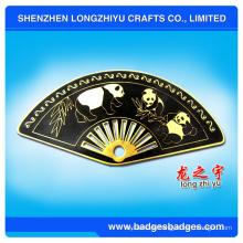 Neuartige Entwurfs-Pop-Art-transparente Münze von China