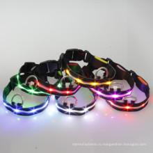 Светящиеся ленты светодиодные ошейники для собак с металлической слайдер и ПУ советы