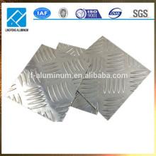 5 bar rutschfeste Aluminium Blechplatten Lieferanten