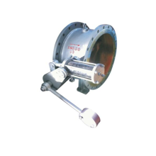 One way water slow closing check valve